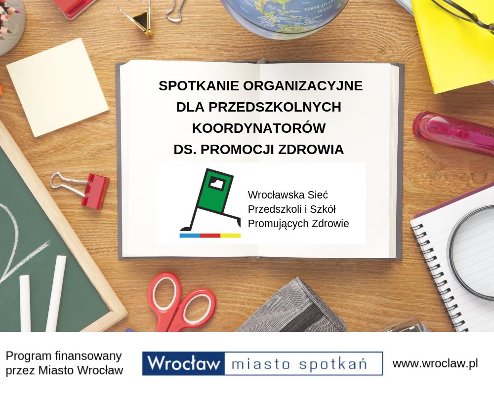 Spotkania organizacyjne dla przedszkoli