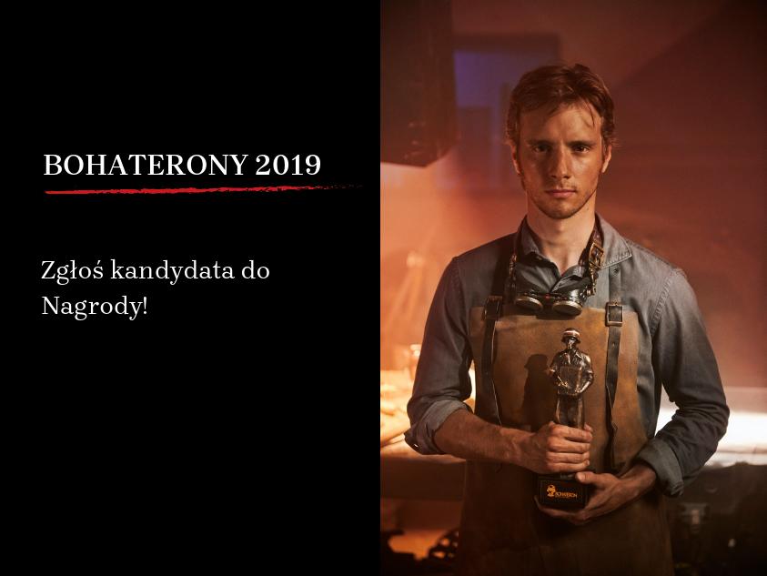 Zgłoś kandydata do Nagrody BohaterONy 2019!