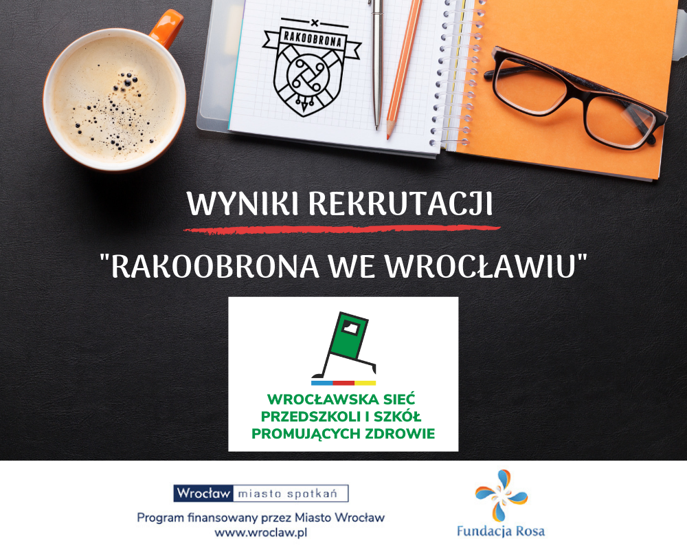 """Lista zakwalifikowanych szkół do projektu """"Rakoobrona we Wrocławiu"""""""