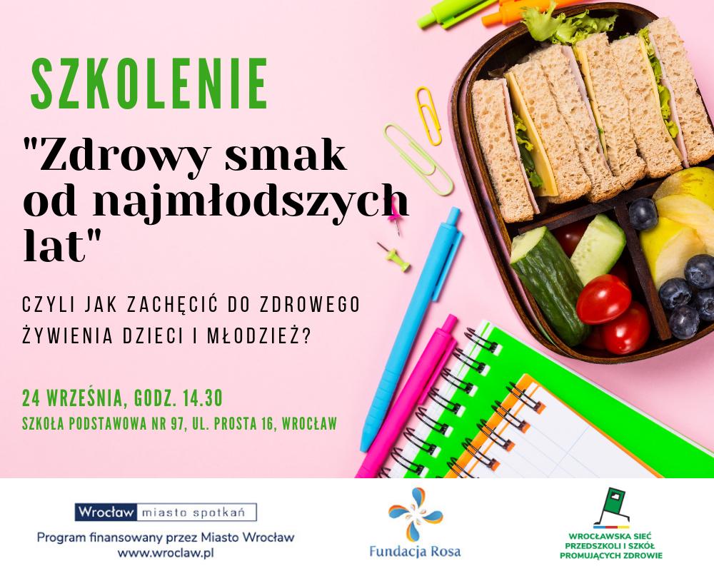 Weź udział w szkoleniu i dowiedz się, jak zachęcić dzieci do zdrowego odżywiania