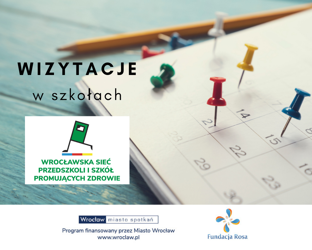 Wizytacje w ramach Wrocławskiej Sieci Przedszkoli i Szkół Promujących Zdrowie