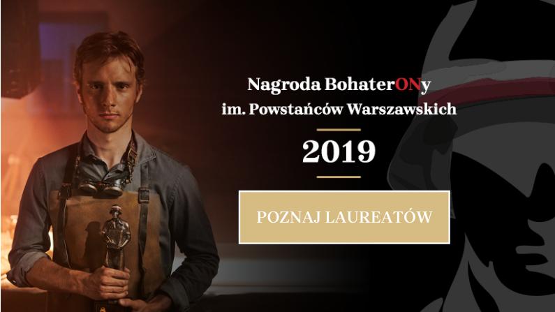 Laureaci Nagrody BohaterONy 2019