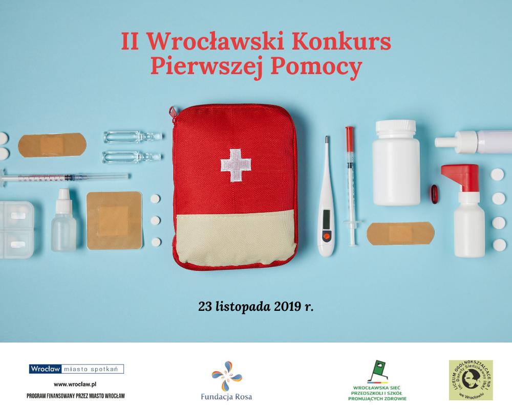 Weź udział w II Wrocławskim Konkursie Pierwszej Pomocy
