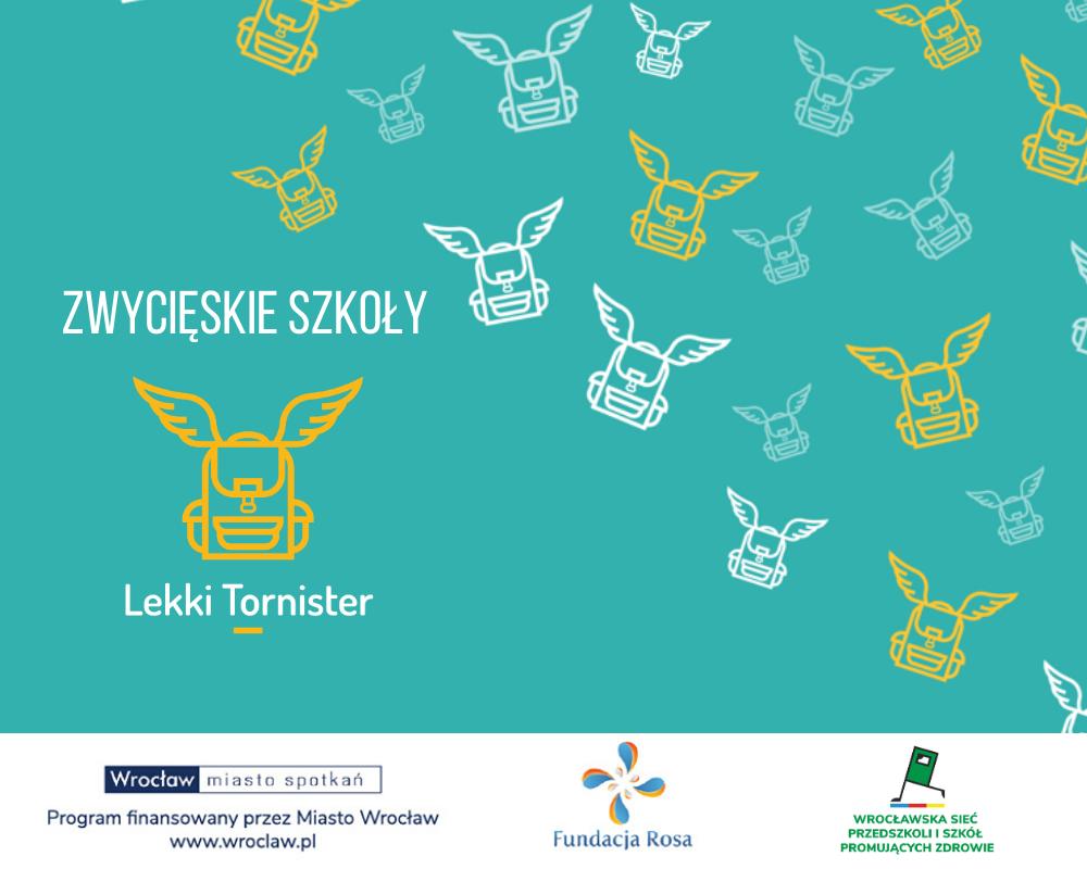 Zwycięzcy w projekcie Lekki Tornister we Wrocławiu