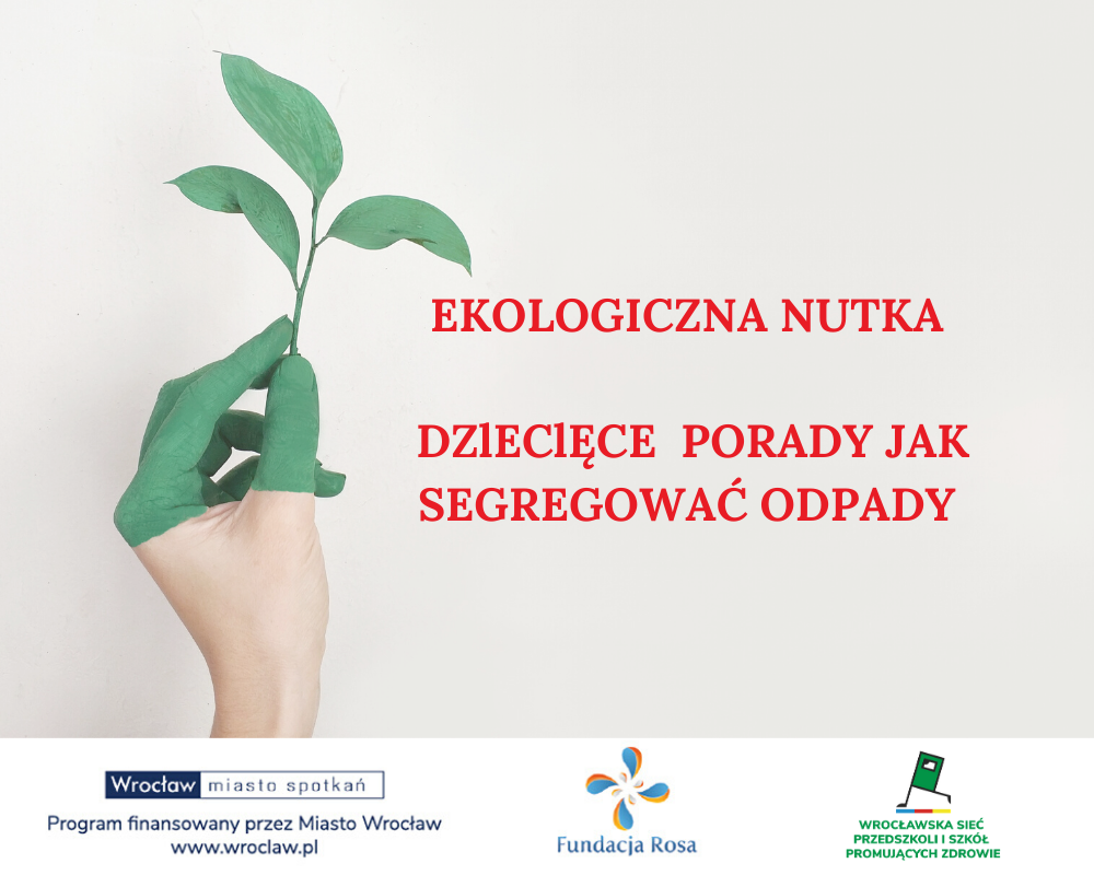 """Zaproszenie do udziału w przeglądzie """"Ekologiczna nutka"""" i konkursie plastycznym"""
