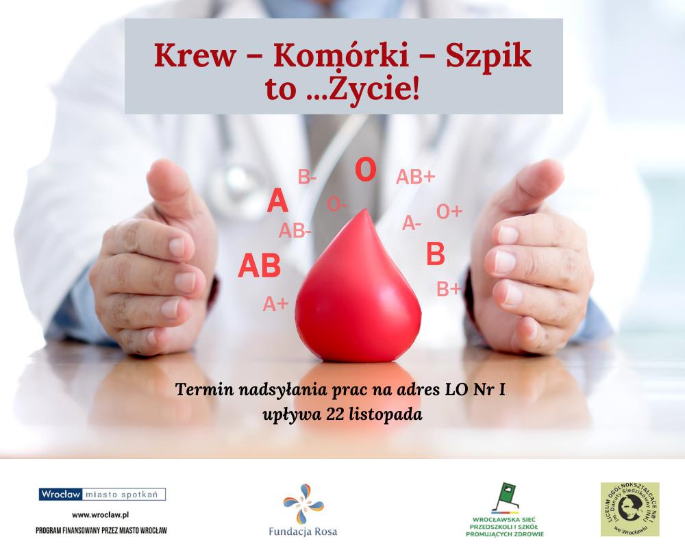 Krew – Komórki – Szpik to… życie!