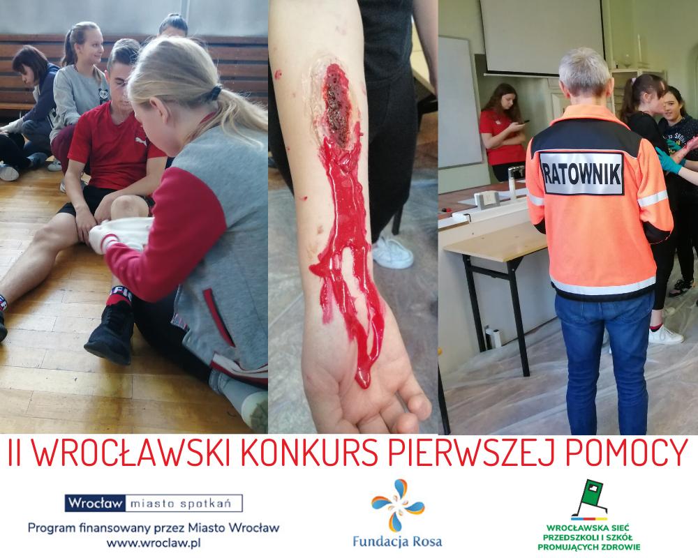 II Wrocławski Konkurs Pierwszej Pomocy